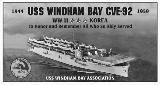 Panel 1 USS Windham Bay CVE-92