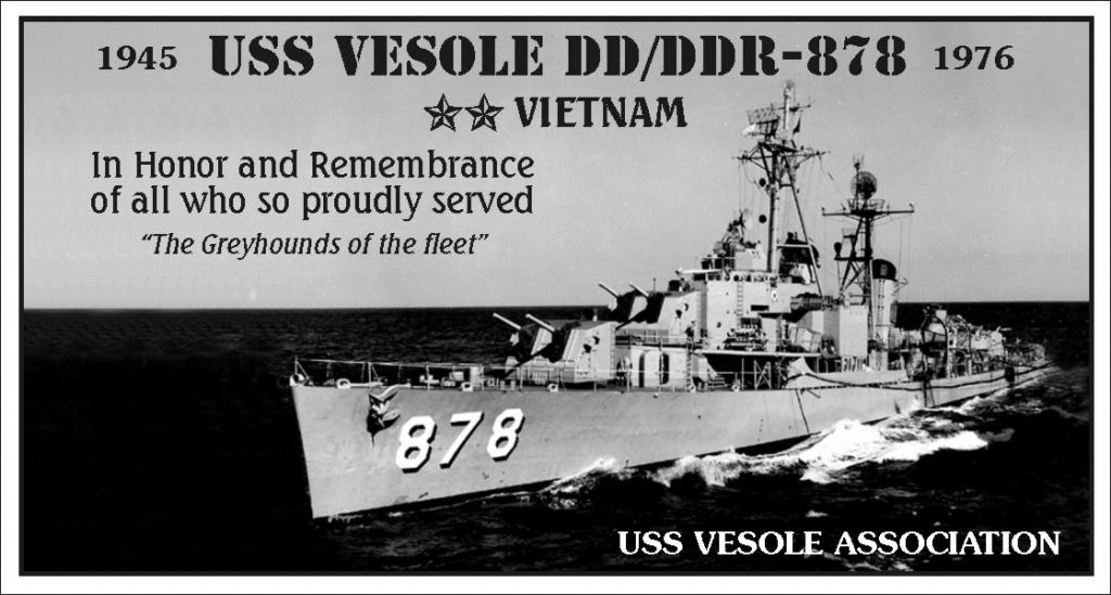 Panel 1 USS Vesole DD/DDR-878